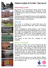 Woolavington and Puriton poster page 1 (Big Local) Tags: poster flyer posters leaflet publicity flyers leaflets biglocal localtrust woolavingtonandpuriton puritonandwoolavington
