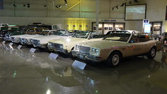 A row of Buick's at the the GM Heritage Center (lotprocars) Tags: buick gmheritagecenter