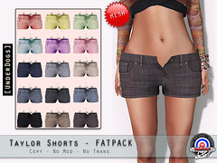 New @ UnderDogs - Taylor shorts (Delaney Canucci) Tags: life new dogs fashion female blog clothing mesh release under blogger clothes taylor second shorts underdogs