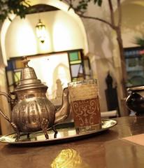 The in the Riad (Elidor) Tags: marocco marrakech te riad
