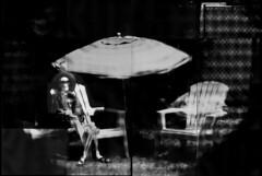 Cinco de Mayo, Margaritaville Style (composite image) (Crunchy Footsteps) Tags: camera coffee composite paper bathroom image large pinhole negative developer caffenol bathroomcam