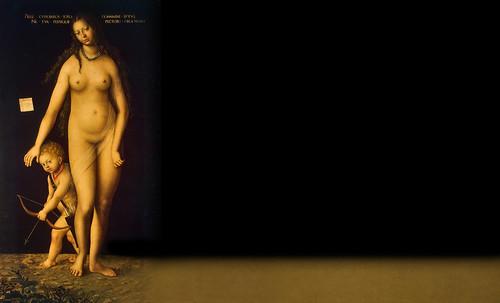 """Venus y Cupido, versiones de los Cranach, el Viejo (1529) maestro fundador de la escuela flamenca, interpretaciones y paráfrasis de Pablo Picasso (1957). • <a style=""""font-size:0.8em;"""" href=""""http://www.flickr.com/photos/30735181@N00/8746770341/"""" target=""""_blank"""">View on Flickr</a>"""