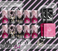 Black Cat Prim Nail {AD} ({ .::Gala Fashion Design::. }) Tags: black cat avatar violet sl nails secondlife kawaii nailpolish metaverse unghie smalto