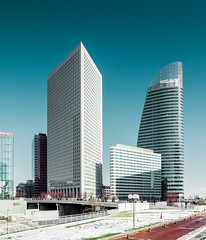La Defense 7 (Philipp Gtze) Tags: paris architecture office district ladefense buidlings