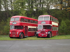 Lowheight Attempts (routemaster2345) Tags: bus museum vintage bristol day central may scottish running western alexander smt ld albion lowlander ecw lathalmond lodekka 2013 svbm