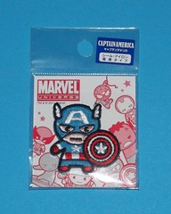 Marvel Universe Patch - Captain America (chujohime) Tags: marvel captainamerica avengers