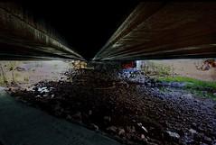 Under The Bridge (Paul B0udreau) Tags: bridge ontario water graffiti gimp samsung niagara master layer hdr grimsby tonemapping nikkor1855mm artdigital stickybeak d5100 samsungmaster paulboudreauphotography bono66 nikond5100