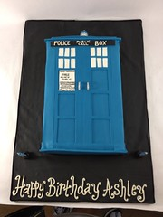 Tardis Police Call Box (Creative Cakes by Allison) Tags: call box police celebration tardis