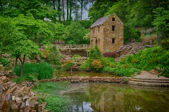 The Old Mill - North Little Rock, AR (memories_by_mike) Tags: landscape waterfall with ar fineart arkansas northlittlerock gristmill gonewiththewind theoldmill nikond600 hdr3exp trpughmemorialpark