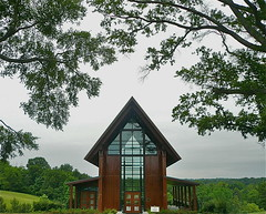 Explicit Chapel (ideowl) Tags: church architecture modern virginia retreat arrow meditation phallic episcopalian roslyn shinzenyoung