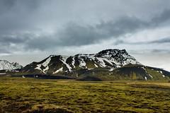 Iceland Mountain (ronnymariano) Tags: sky cloud mountain storm field rock clouds landscape lava iceland moss reykjavik glacier lichen lavafield 2013