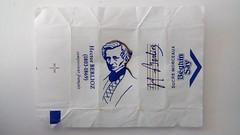 Srie Compositeurs 01 - Berlioz 01 (periglycophile) Tags: france sugar cube packet say musique sucre classique berlioz morceaux compositeurs sucrology beghin priglycophilie