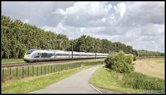 20160714 Eurostar 4013/4014, Dordrecht (16531) (Koen Brouwer) Tags: 16531 eurostar trein train zug dordrecht willemsdorp zomer sunny juli 2016 4013 4014