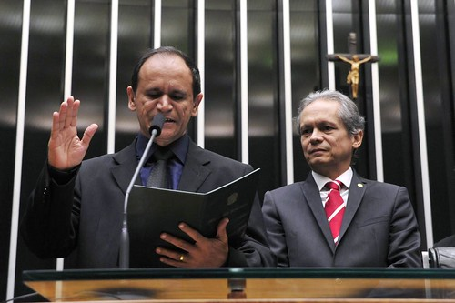 Posse do deputado federal Moisés Diniz (PCdoB-AC)
