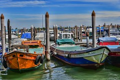 _COLORED BOATS (gianmaria.colognese) Tags: colori boats barche venezia laguna water acqua onde
