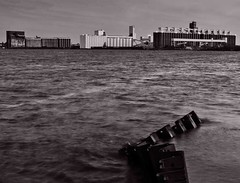 High water (TwinCitiesSeen) Tags: blackandwhite duluth minnesota twincitiesseen canont3i tamron2875mm