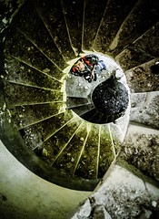 . (Katarina Kosanovic) Tags: old castle vojvodina stairs