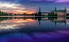 A Daydream (Massimo Buccolieri) Tags: castle dk denmark frederiksborg hillerod sunset dream lake reflections slot hillerd capitalregionofdenmark