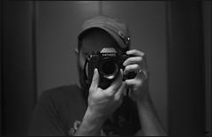 new toy (thexvo) Tags: xvophoto contax contaxrx planar cy 35mm film bw portrait filmisnotdead ishootfilm 135film    carlzeiss