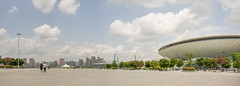 Dsc866_Panorama (stevefge) Tags: china shanghai panorama street arena architecture landscape reflectyourworld people open