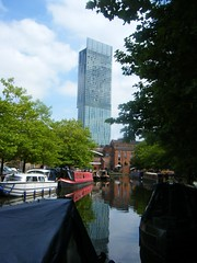 Manchester canal and Beetham Tower (rossendale2016) Tags: image astounding tower beetham canal manchester