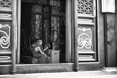 Yonghegong  (sunnywinds*) Tags:          beijing leica aposummicronm1250asph yonghegong buddhist temple monks