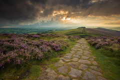 The Roaches (JamesPicture) Tags: heather peakdistrict roaches staffordshire stormy path