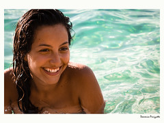 Sorrisi (bauscia99) Tags: smile happy happiness sun summer portrait ritratto model family italia italian italy sea mare light luce eyes