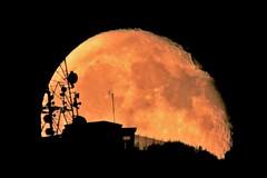 So Close ... (Kotsikonas Elias) Tags: moon luna sky athens greece