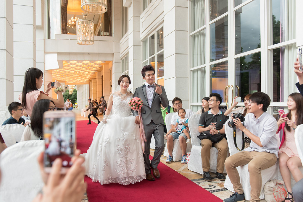 中僑花園飯店婚禮記錄雅琇與紋瑞-61