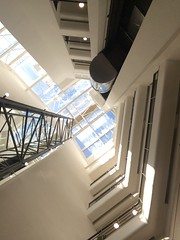 Look up (Tolledot) Tags: windows glass angular perspective height dizzy