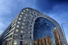De Markthal Rotterdam/ lightning/ Reflection (jo.misere) Tags: rotterdam markthal coenen roskam blaak maxima mvrdv architecten reflection reflectie ngc