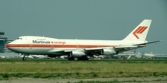 B747 | PH-MCF | AMS | 19940700 (Wally.H) Tags: boeing 747 b747 phmcf ams eham martinair