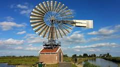 Harry's Trail (Peter ( phonepics only) Eijkman) Tags: zaandam zaanstad zaan zaanstreekwaterland nederland netherlands nederlandse noordholland holland molen mill windmill windmolen water waterland watermill waterrad herkules roosmolen kalverpolder