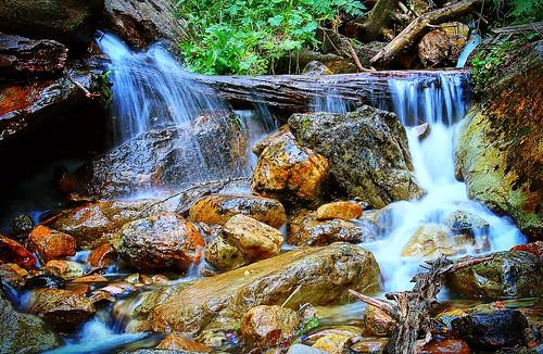 Wildwasser bei Gabas, nahe Lac de Bious-Artigues, Pyrenäen