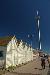 Beach Huts and the i360 (CoasterMadMatt) Tags: britishairwaysi3602016 britishairwaysi360 british airways i360 brightontower tower towers observationtower newfor2016 new brighton2016 brighton seasidetowns seaside town towns beachhuts beachhut hut huts shed building structure architecture britishseaside southeastengland england britain greatbritain gb unitedkingdom uk august2016 summer2016 august summer 2016 coastermadmattphotography coastermadmatt photos photography photographs nikond3200 sussex englandssouthcoast