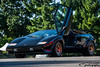 Lamborghini Countach (scott597) Tags: lamborghini countach black gold icon iconic 80s v12 wing 2016 italian gathering columbus ohio exotic