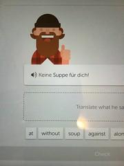 (emed0s) Tags: language german seinfeld duolingo funny screencapture