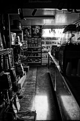 Missing ! (savillent) Tags: black white old stop dark negative family history tuktoyaktuk northwest territories canada business xfiles movie september 2016