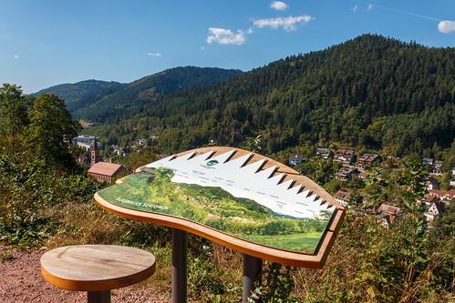 Panorama sur le Kinzigtal à Schiltach