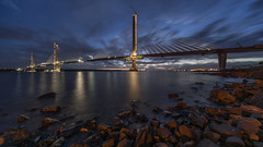 Queensferry Crossing (Bastian.K) Tags: schottland scotland scottisch queensferry north south edinburgh scottish scotch scot ramboll lap leonhardt andr und partner american bridge ab fcbc forth crossing construction steel stahl brcke stahlbrcke verbundbrcke composite concrete stay cable schrgkabel schrg kabel schrgseil seil voigtlander 10mm 56 sony a7rii hyper wide heliar hwh ilce7rii ilce7r2 7rm2 a7r2 a7rm2