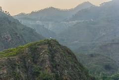 Somewhere near Rudraprayag, Uttarakhand (Nitya..) Tags: landscape uttarakhand hills mountainside door foothill hill cliff ridge mountain nikon trees outdoor gmvn hotel tourism badrinath chardham religious circuit