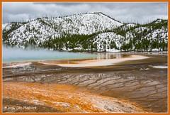 Grand Prismatic 2079 (maguire33@verizon.net) Tags: grandprismaticspring midwaygeyserbasin snow yellowstone yellowstonenationalpark spring springtime steam thermal wyoming unitedstates us