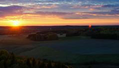 September sunset (Joni Mansikka) Tags: nature autumn outdoor sunset landscape trees fields colours skies clouds woodland light paimio suomi finland tamronspaf2875mmf28xrdildasphericalif