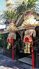 Seminyak sights (SqueakyMarmot) Tags: travel asia indonesia bali 2016 seminyak perjor bamboo decorations