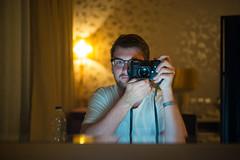 Leica myself #6 (Chris Buhr) Tags: leica leicamyself summilux selfie selbstportrait spiegel spiegelung mirror chris buhr myself 35mm