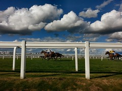 Ascot Racecourse (Paul-M-Wright) Tags: ascot racecourse berkshire horse racing 30 september 2016 horses race track clouds summer blue sky jockey sport