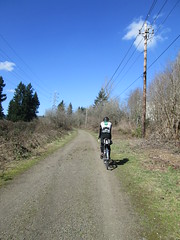 Kevin on the Springwater Trail (Lynne Fitz) Tags: bicycle oregon sweetpea 100k permanent populaire randonneur