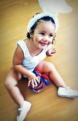 Coelhinha - Bel (Tailane Melo) Tags: linda bella infância fofa coelhinha