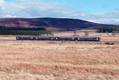 Class 158s at Moy (worldmachine.org) Tags: scotrail inverness moy dmu class158